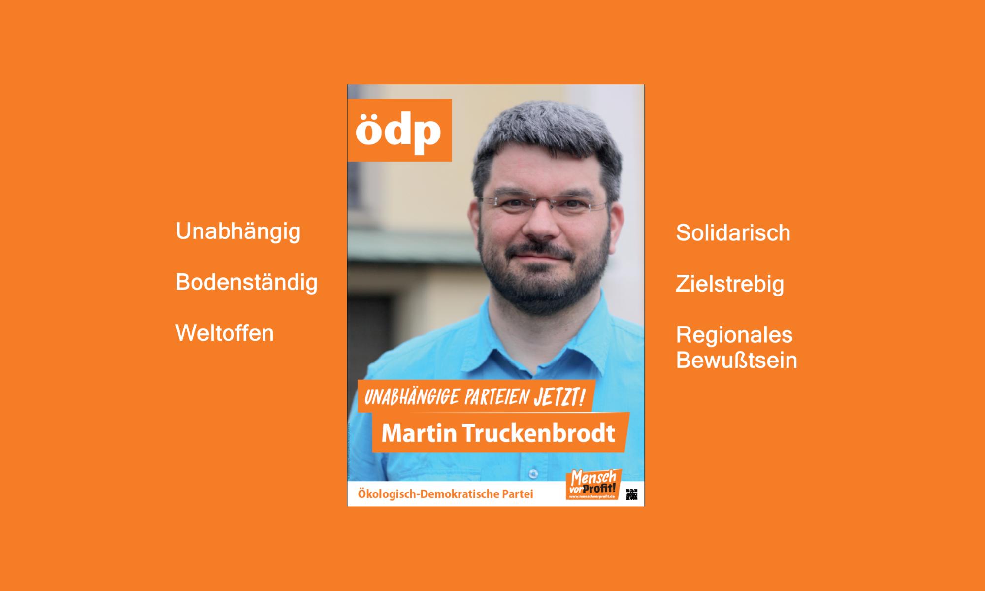 Martin Truckenbrodt ÖDP